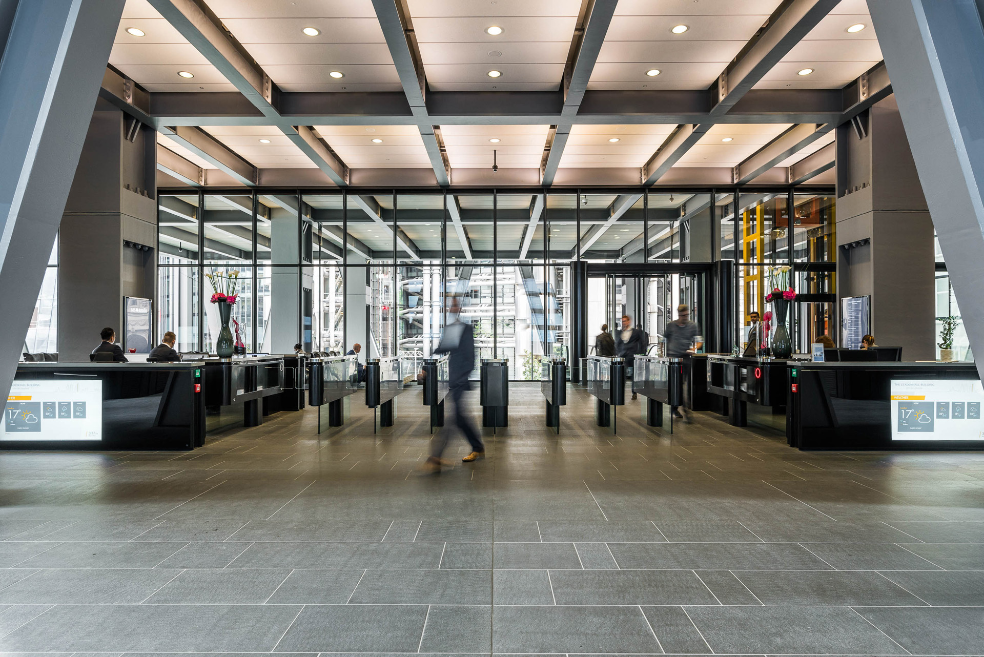 Digital signage for internal communications at The Leadenhall Building